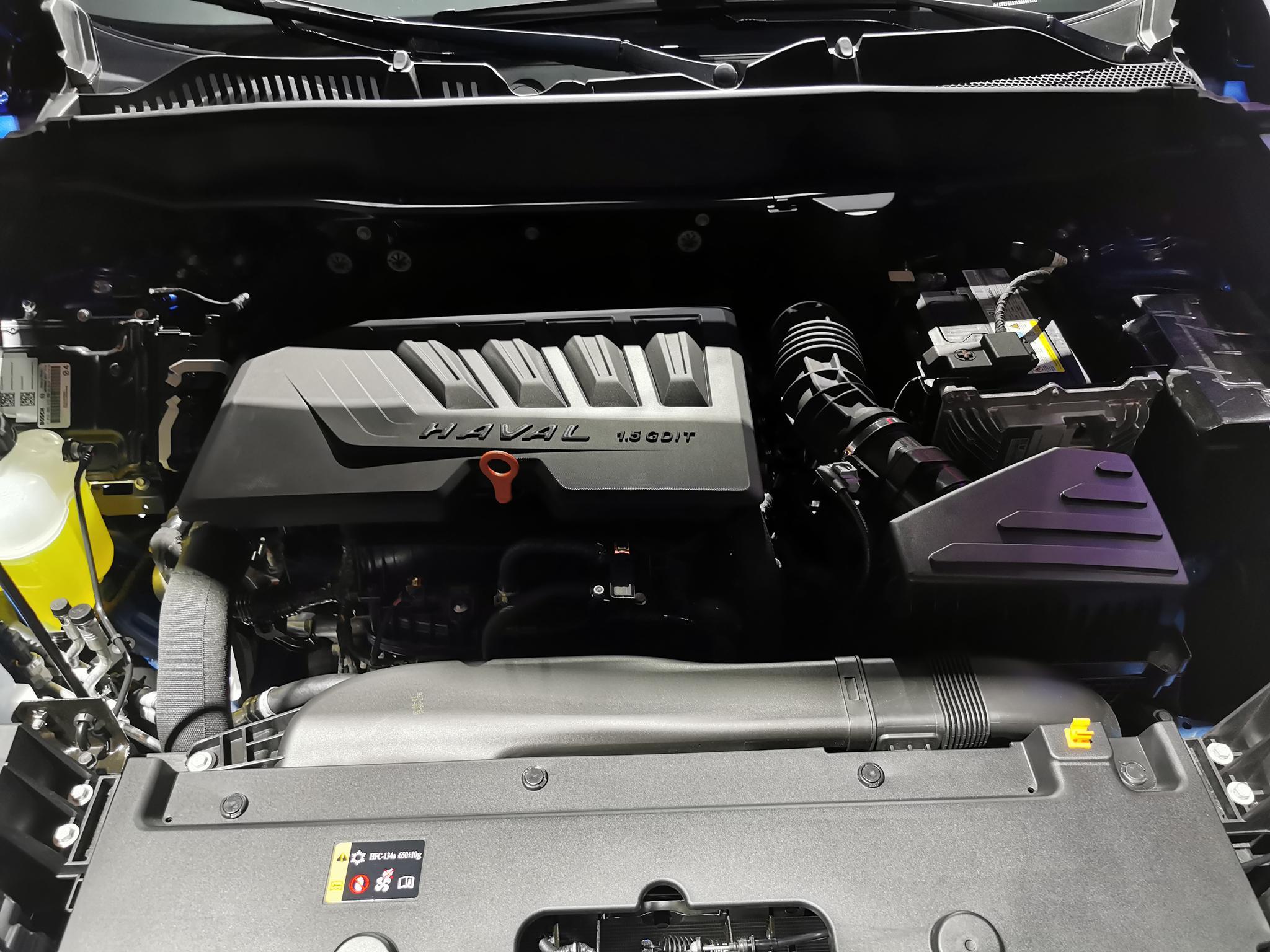 第三代哈弗H6亮相 搭载1.5T涡轮增压发动机